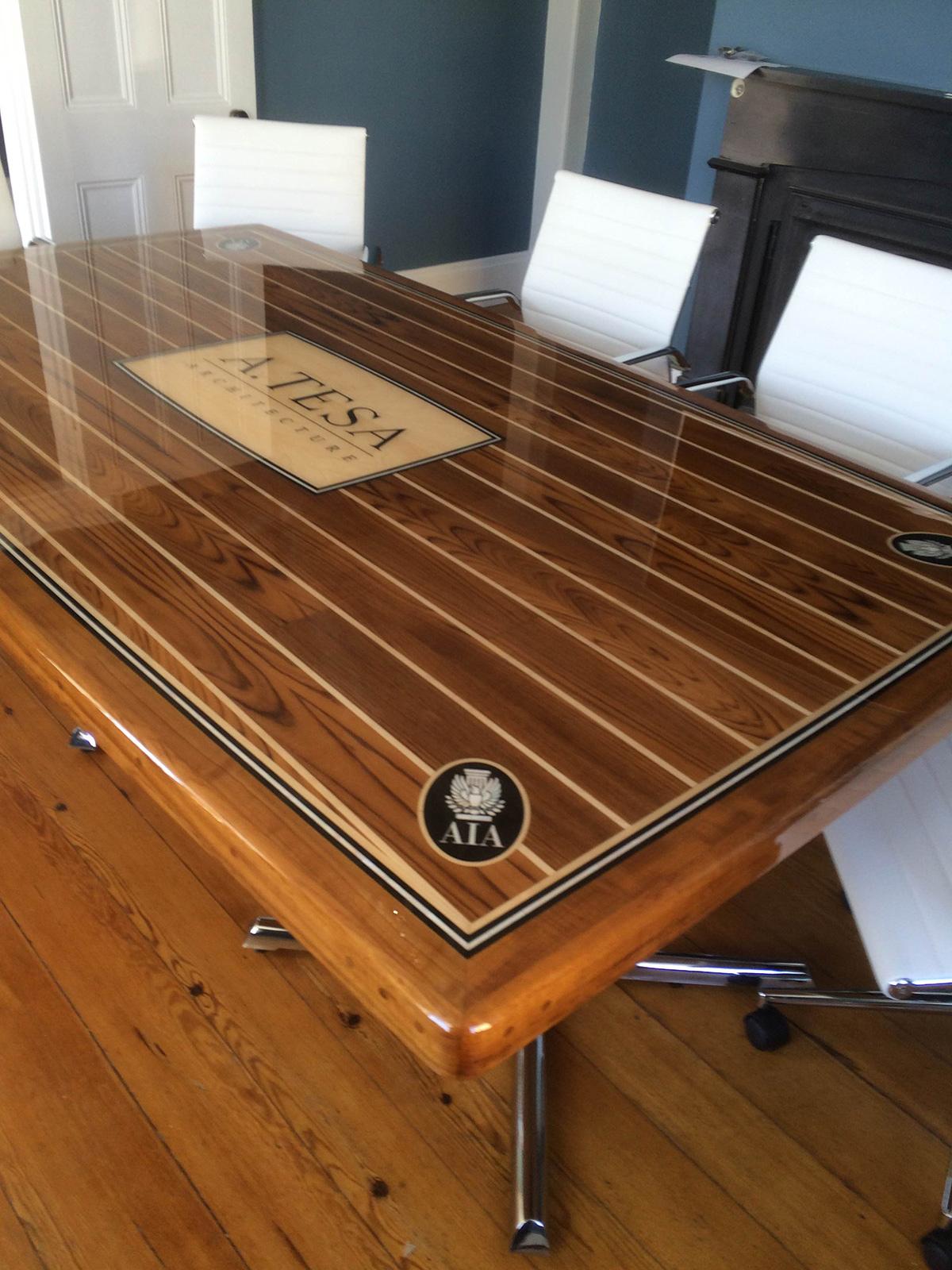 Custom Boat Tables Custom Nautical Art