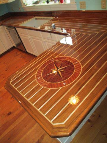 bar countertops custom nautical