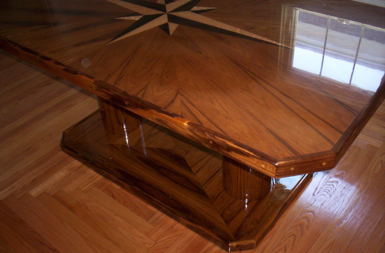 Custom Nautical Countertop Bar Tops
