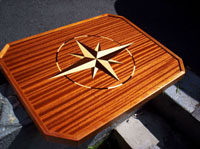 boat yacht tables art custom designed