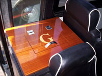custom boat table hatch
