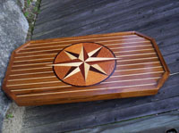 yacht boat compass rose tables custom design